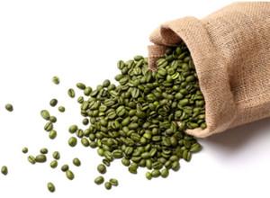 grønne kaffe bønner