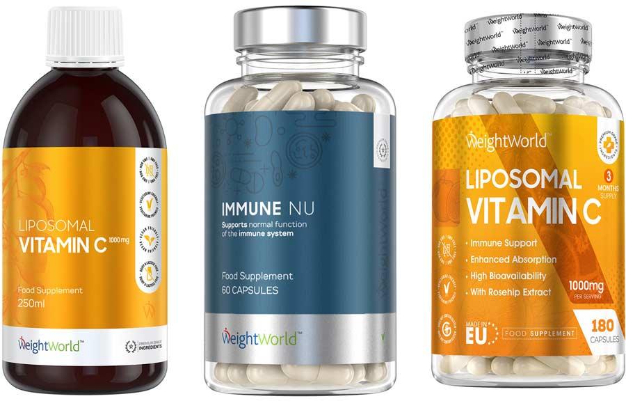 Immune NU + c-vitamin
