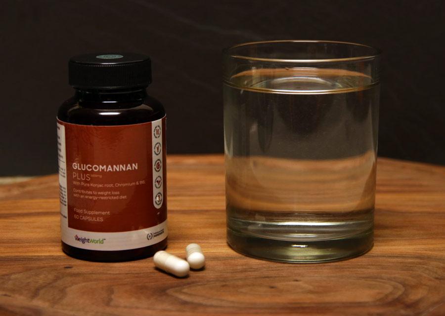 Glucomannan Plus daglig dosis
